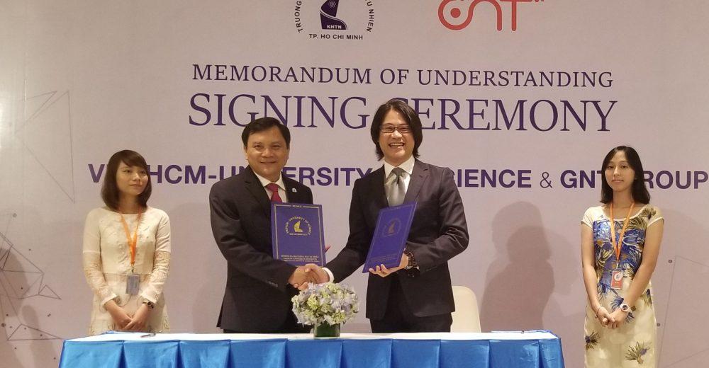 Lễ Ký Kết Memorandum Of Understanding Giữa GNT VN Và ĐH KHTN