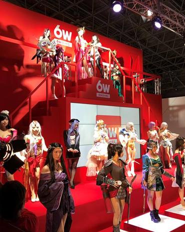 GNT VN THAM GIA SỰ KIỆN TRIỂN LÃM TOKYO GAMESHOW HOÀNH TRÁNG NHẤT NHẬT BẢN 9/2018